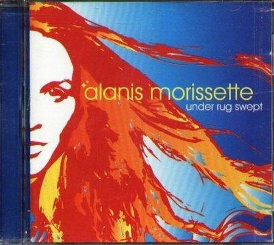 《絕版專賣》Alanis Morissette / Under Rug Swept 往事塵封 (外紙盒.膠盒完整)