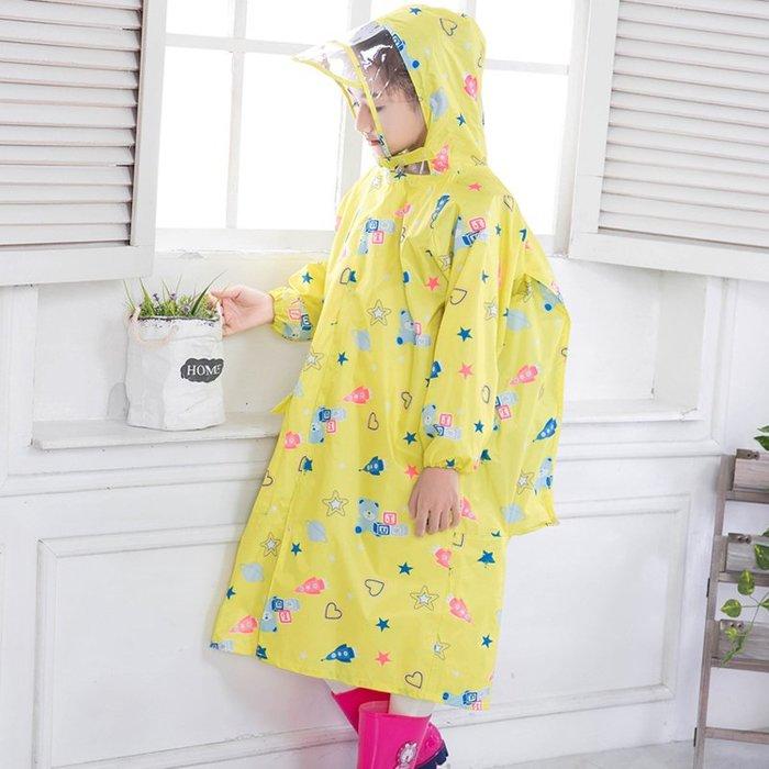 兒童雨衣雨披寶寶雨衣男女童帶書包位迷彩雨衣小學生幼兒園雨衣