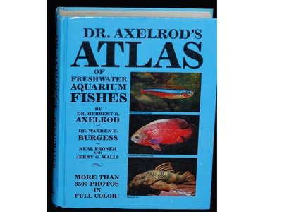 Dr. Axelrod's Atlas of Freshwater Aquarium Fishes 水族 魚 百科 書
