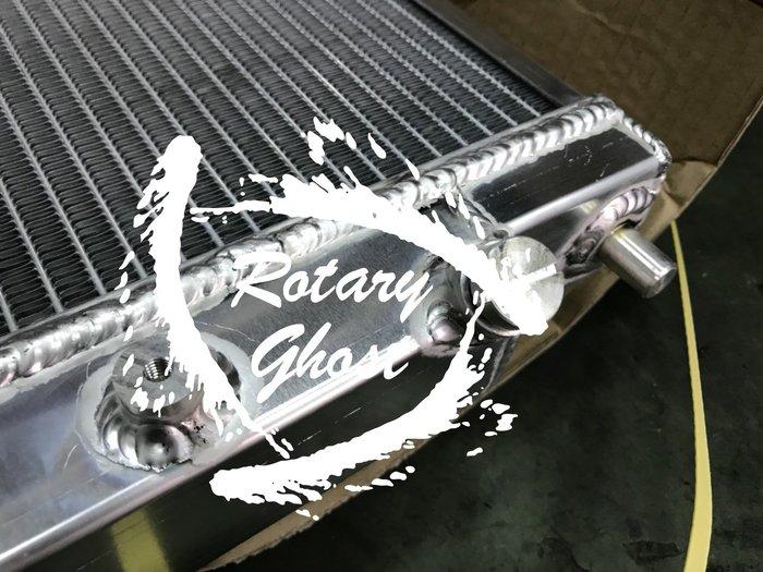 RX8 手工全鋁合金加大雙層水箱 40MM 直上  MAZDA RX-8 2003-2005