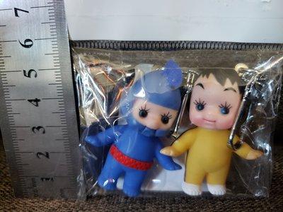 Kewpie 丘比娃娃 忍者 李小龍造型 公仔吊飾匙扣