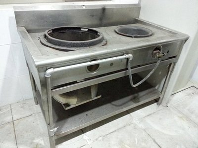 單口炒台+單口煮湯台