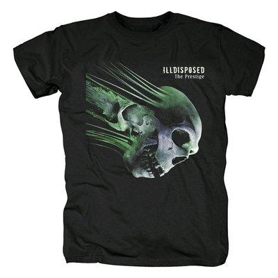 新款丹麥Illdisposed旋律死亡金屬brutal death metal音樂紀念T恤