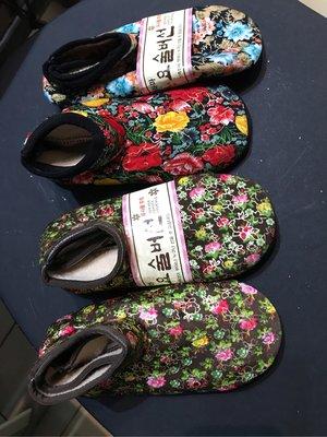 韓國進口室內保暖襪 防滑 內刷毛 尺寸鞋底長21-23cm 新品 4雙組