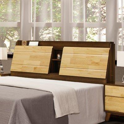 【在地人傢俱】19 簡單購-北海道併色耐磨木紋5尺床頭片 LC501-1