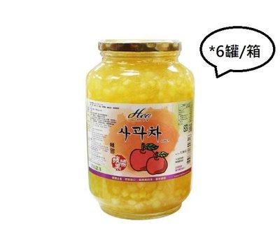 High Tea《芳第》韓國原裝進口-韓國蘋果醬/1.9Kg*6罐/箱 --【良鎂咖啡精品館】