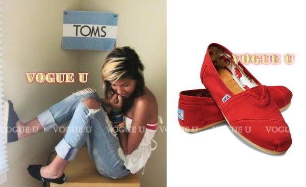 ☆VOGUE U☆美國TOM'S正品~Classics初著素色 帆布鞋 懶人鞋平底鞋 情侶鞋~六色~(特價) 【B0096T】