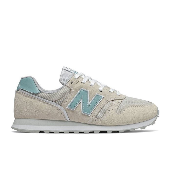 ➕sneakersplus ➕ 女鞋 NEW BALANCE 藍 米白色 麂皮 373 休閒復古鞋 WL373DA2