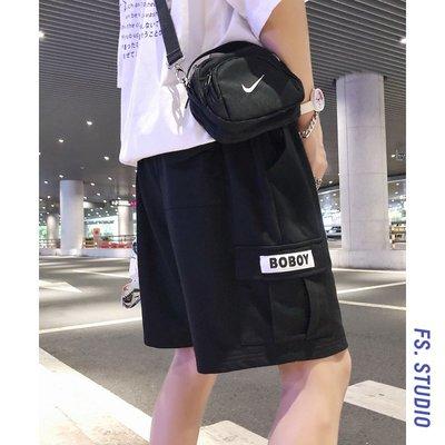 男短褲7-11全家正韓國版新款百搭@方...