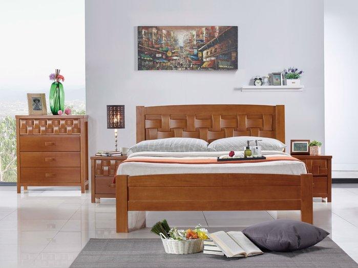 FA-015-A組 編織5尺雙人床組(雙人床+床頭櫃x2+斗櫃+鏡台含椅)大台北區/家具/系統家具/茶几/高低櫃/1元起