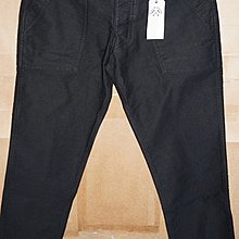 bleu de paname FATIGUE STAIN TWILL 重磅 工作褲 30 黑 法國製