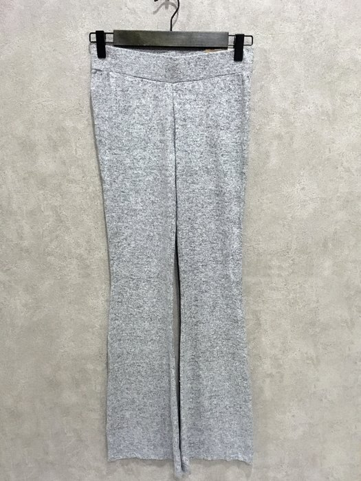 Maple麋鹿小舖 American Eagle * AE  灰色低腰貼身款喇叭長褲 * ( 現貨XXS/XS號 )