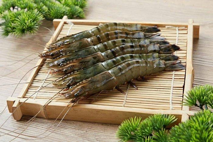 極禾楓肉舖~根島生態蝦~黑虎蝦12P~鮮甜海味與濃厚鮮蝦味