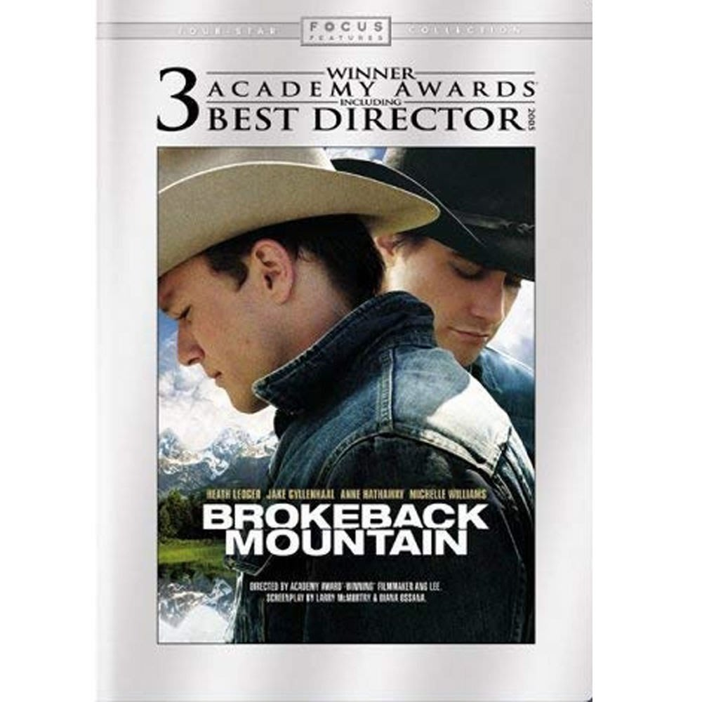 【紅豆百貨】Anne Hathaway 斷背山Brokeback Mountain 2005 英語中英雙字DVD 精美盒裝