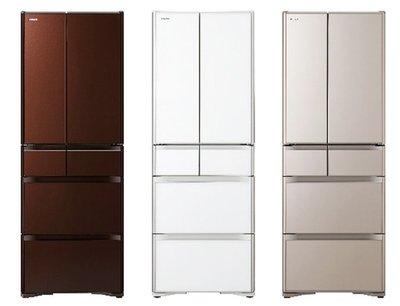 HITACHI日立 RG520HJ 日本原裝六門冰箱 511公升