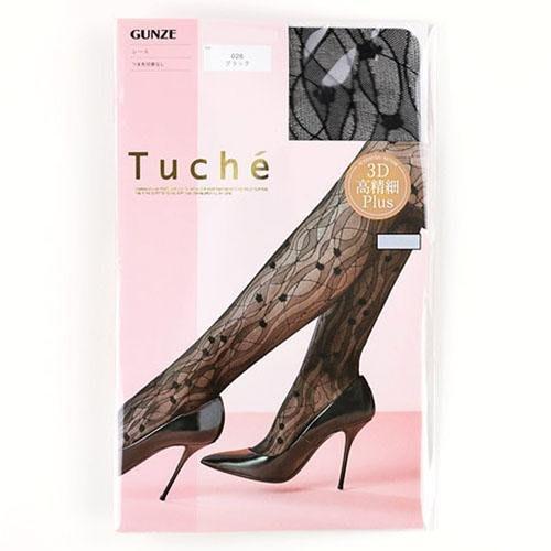 【東京速購】日本 GUNZE Tuche 3D PLUS 多層次 刺繡絲襪