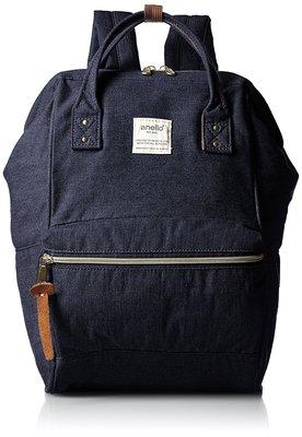 Anello - ANELLO 官方經典便攜牛仔背包 AT-B0935B-DNV 牛仔深藍