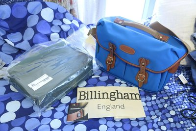 全新 Billingham x Pedlars Hadley Pro Electric Blue 特別版 送內膽