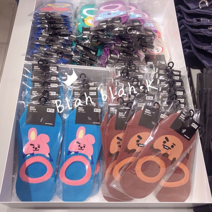 BT21 船型襪 隱形襪 襪子 短襪 韓國正品代購