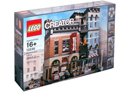 全新現貨 10246 LEGO Modular Buildings Detective's Office