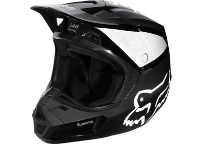 「Rush Kingdom」代購 Supreme Fox Racing V2 Helmet 黑色  越野 安全帽