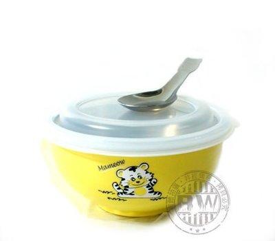 2059 居家館_ZEBRA斑馬牌彩色兒童隔熱碗11cm 250cc~黃~幼稚園指定孩童碗 保鮮盒 隔熱湯碗