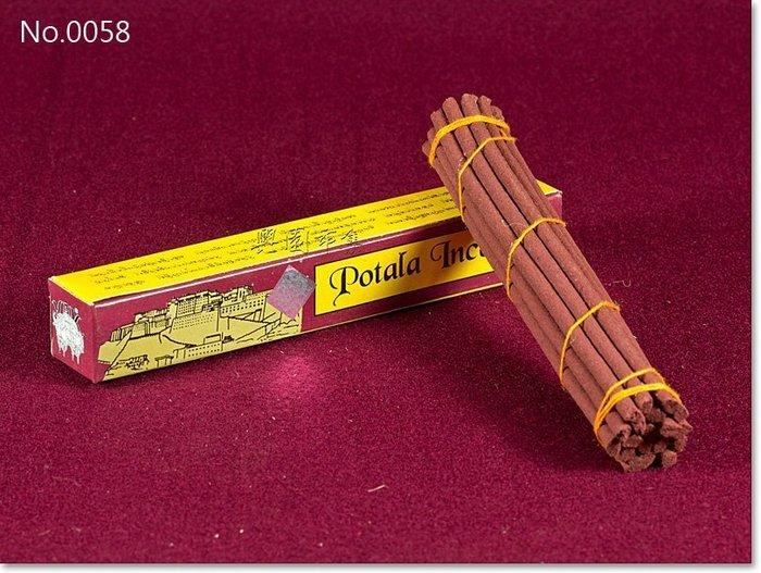 【興園市集】布達拉臥香‧每支長6吋‧Potala Incense‧藏地流傳最廣的香品‧No.0058