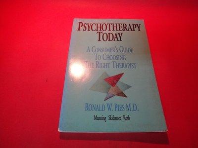【愛悅二手書坊 06-35】Psychotherapy Today