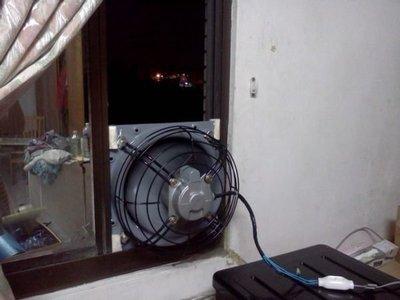 [多元化風扇風鼓]台製全新12吋 110v  負壓扇  排風扇(強制把熱氣 油煙排出去