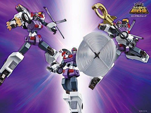 郁峰模型 ~ SR 超合金 SUPER ROBOT 超級機器人 超合金 勇者王 巨型 博爾霍克 ~ 代理商版 ~