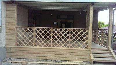 木地板~戶外南方松規劃設計施工