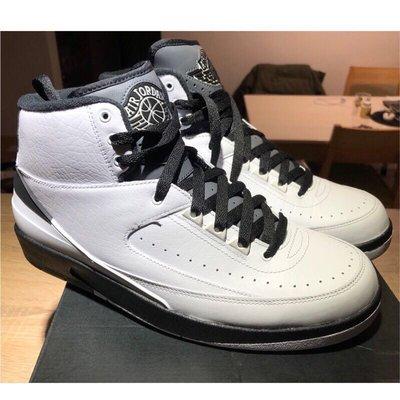 Nike Air Jordan 2 Retro Wing It 喬丹2代   834272-103 白黑配色