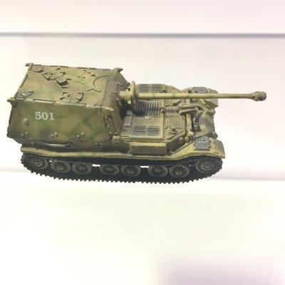 中古 Can.do Elefant  德軍坦克戰車 1/144 cando world tank museum 淨車冇包裝