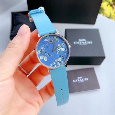 ㊣國際品牌COACH庫㊣ COACH 手錶【2件免運】真皮帶石英手錶 2019冬季新款女錶 腕錶