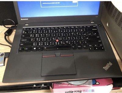 Lenovo T450 i5-5300U 8G/250G SSD/WIN10/14 吋筆電