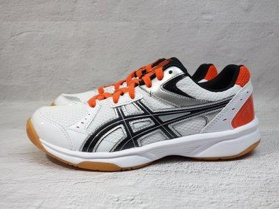 [麥修斯]ASICS RIVRE CS 橘白 女款 排球鞋 羽球鞋 桌球鞋 亞瑟士 TVRA03-100 新北市