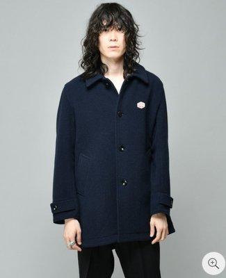 【傑森精品】法國工裝 Vincent et Mireille 聯名款 厚實保暖 麥爾登羊毛呢 合身 青果領 短大衣 外套