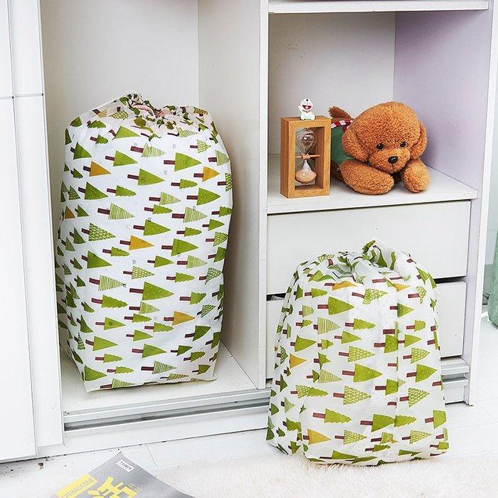 被子收納袋防潮防水家用束口棉被袋子大號手提衣服整理袋打包袋