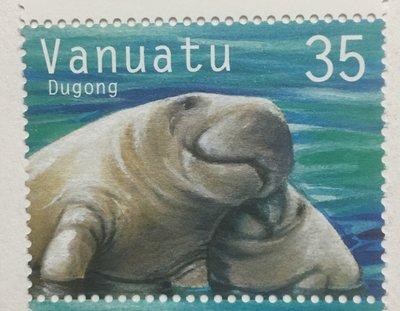 2002南太平洋萬那杜可愛的海牛(dugon)