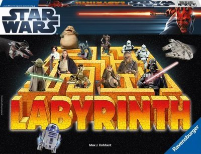 骰子人桌遊-百變迷宮 星際大戰版 Labyrinth Star Wars