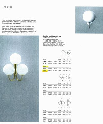 德國名牌 LIMBURG WALL LIGHT FOR 1 X E27 100W MODEL NO. 3512