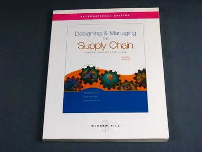【懶得出門二手書】《Designing & Managing THE Supply Chain》(22Z35)