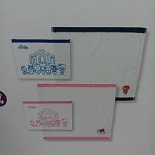 韓國籃色毛巾