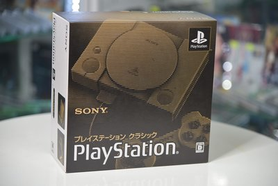 全新 SONY 原裝 PlayStation Classic PS Classic 迷你 mini 懷舊主機 HDMI (日版) - 內款20款遊戲