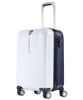 《departure 撞色系列》登機箱-22吋 藍白雙色