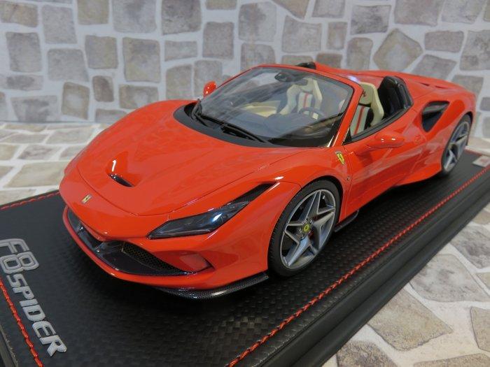 宗鑫貿易 MR FE029E Ferrari F8 Spider Rosso Scuderia 亮紅
