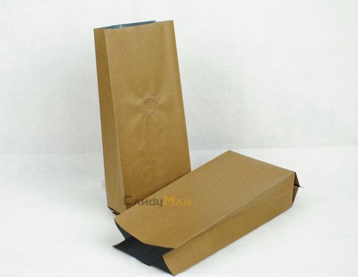 新版材料_NC502_繁星系列_1/2磅_金咖啡色_合掌夾邊袋_含單向排氣閥(100入)