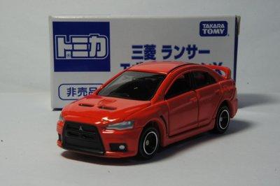 TOMY(tomica)2015大阪博覽會 非賣品 MITSUBISHI LANCER EVO X(1/61模型車)