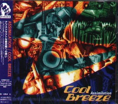 K - Cool Breeze - Assimilation - 日版 +1BONUS 1995 - NEW