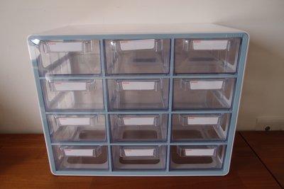 SYSMAX-UP SYSTEM MULTI BOX桌上型多功能系統收納盒12格抽屜-2盒ㄧ賣-收納好物  一目瞭然
